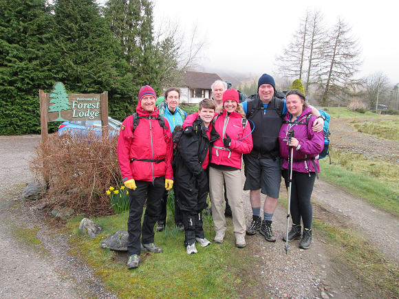 Walkers at Forest Lodge